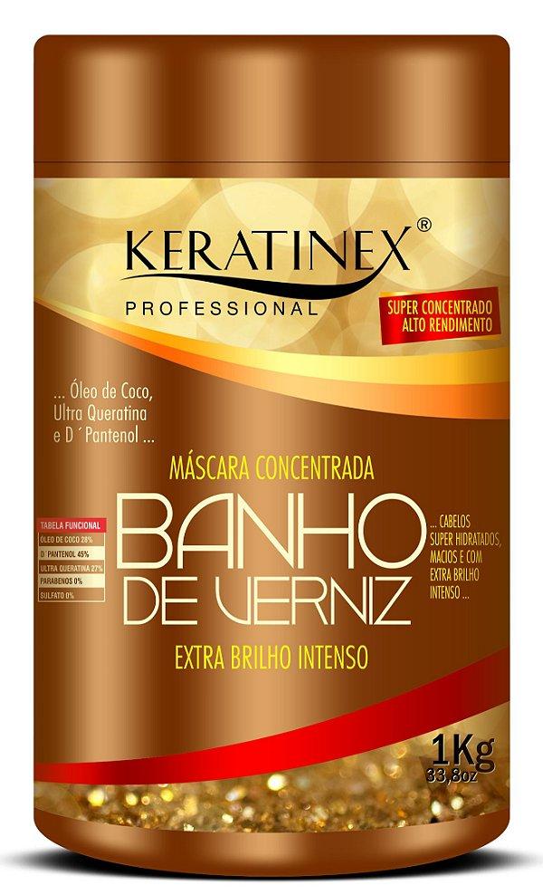 Mascara de Hidratação Banho de Verniz Keratinex - 1kg