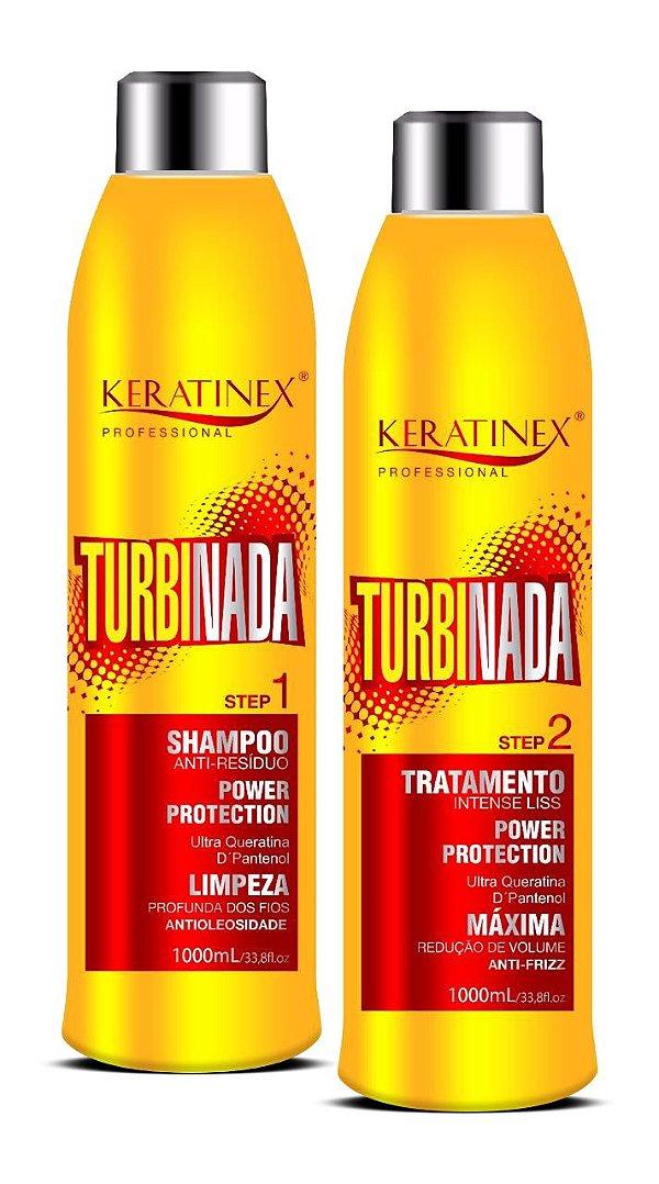 Kit Escova Progressiva Turbinada Keratinex - 2 Iitens