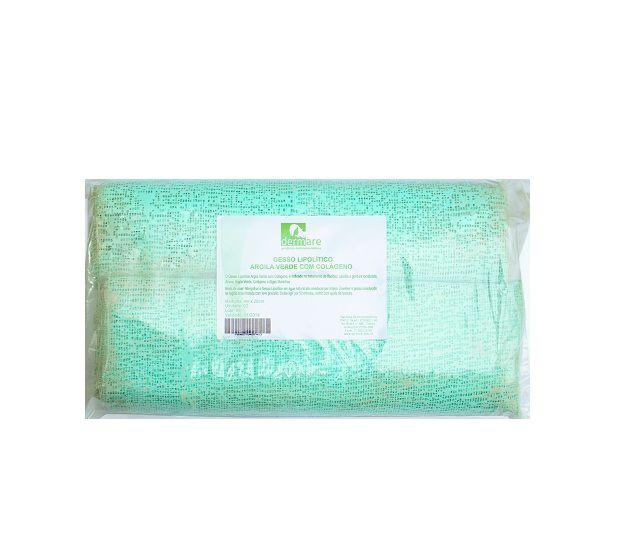 Gesso Lipolítico para Gessoterapia com Argila Verde e Colágeno- Dermare 2Un