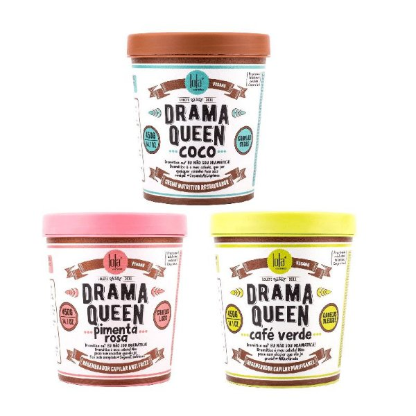 Trio de Mascaras Drama Queen Lola