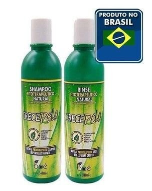 Boé Crece Pelo Shampoo Natural + Condicionador Rinse