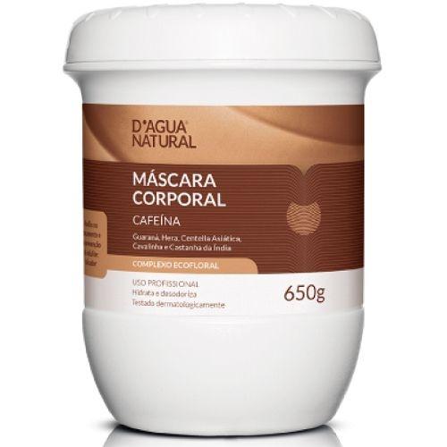 D'água Natural Máscara Corporal Complexo Ecofloral com Cafeína 650g