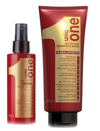 Kit Revlon Uniq One Shampoo Balm + Leave-in Spray 10 em 1