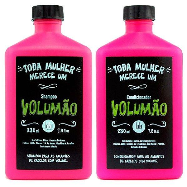 Kit Volumão Shampoo e Condicionador - Lola Cosmetics