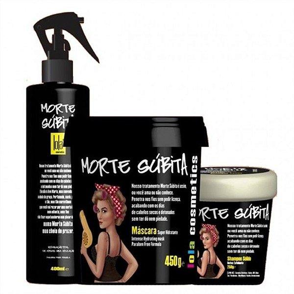 Kit Lola Morte Subita Detox e Nutrição 3 Itens - Lola Cosmetics