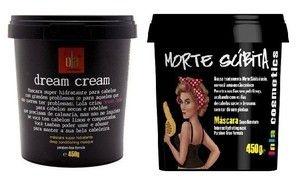 Dream Cream e Morte Subita Kit Máscara Lola - 450g