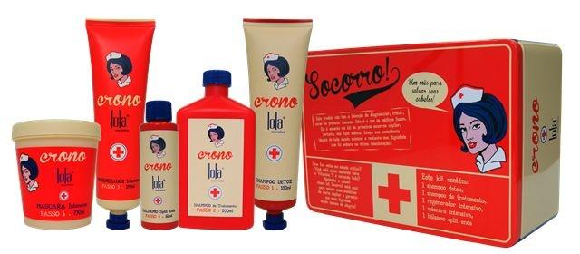 Kit Lola Socorro Cronograma Capilar - Lola Cosmetics