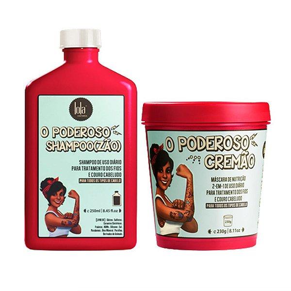Kit O Poderoso Cremão e O Poderoso Shampoo(zão) Lola Cosmetics