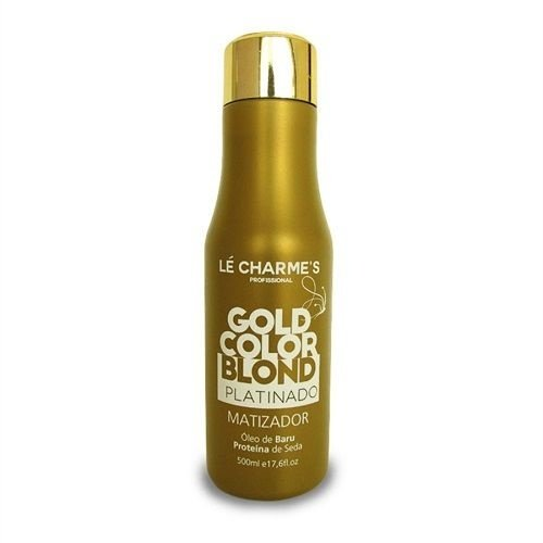 Matizador Le Charmes Gold Color Blond Platinado 500ml