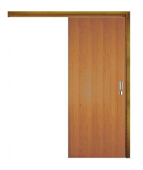 TRILHO CORRER Sobreposto em Jequitibá 2 m Simples - Sem acabamento (Porta não inclusa)