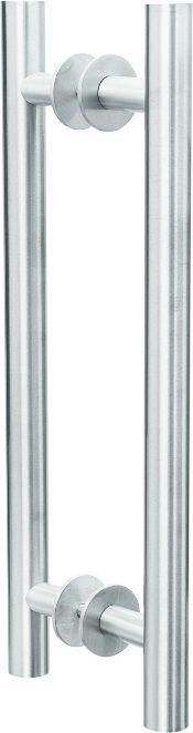 REF. 291 ACETINADO - Puxador Alumínio Tubo Reto