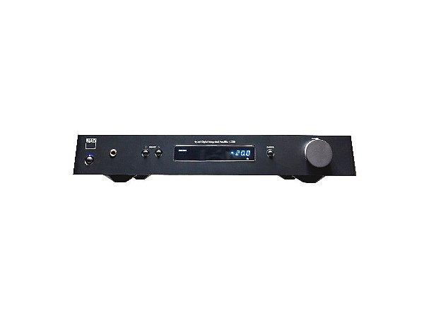 Amplificador DAC híbrido C 328 - NAD Eletronics