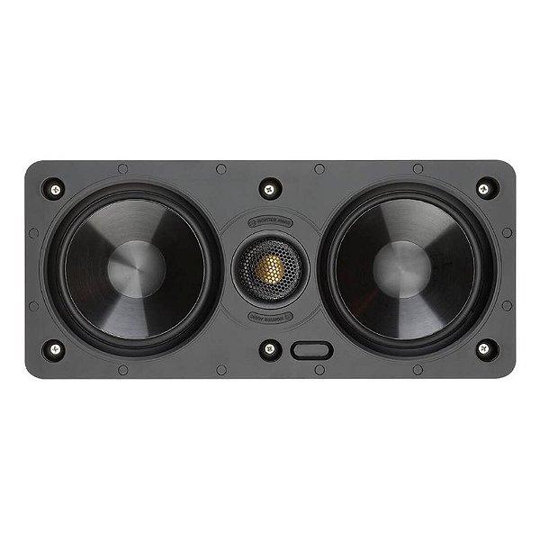 Caixa Acústica Embutir Monitor Audio SW150LCR Branca Retangular