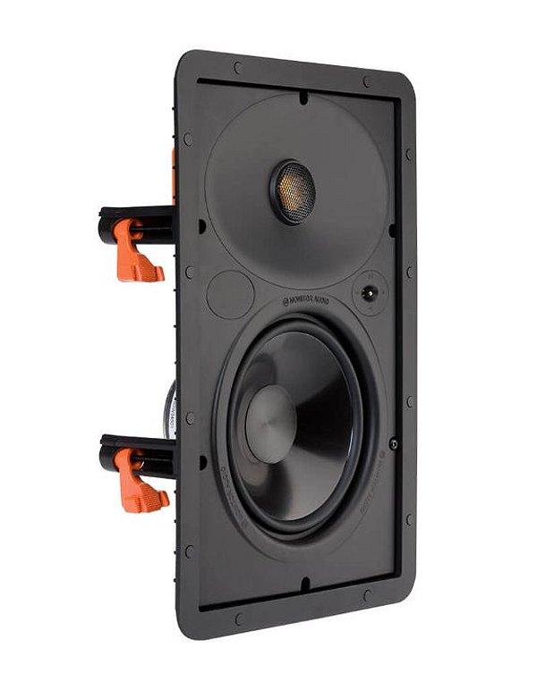 Caixa Acústica Embutir Monitor Audio SCW180 Branca Retangular