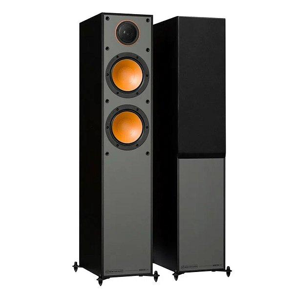 Caixa acústica Torre Monitor Audio Monitor SM200B Preto Fosco