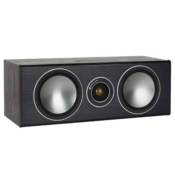 Caixa Acústica Central Monitor Audio Bronze Centre SBRSCB  Preto Fosco