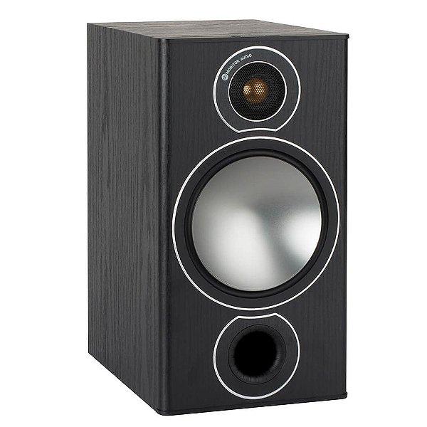 Caixa Acústica Bookshelf Monitor Audio Bronze 2 SBRS2B Preto Fosco