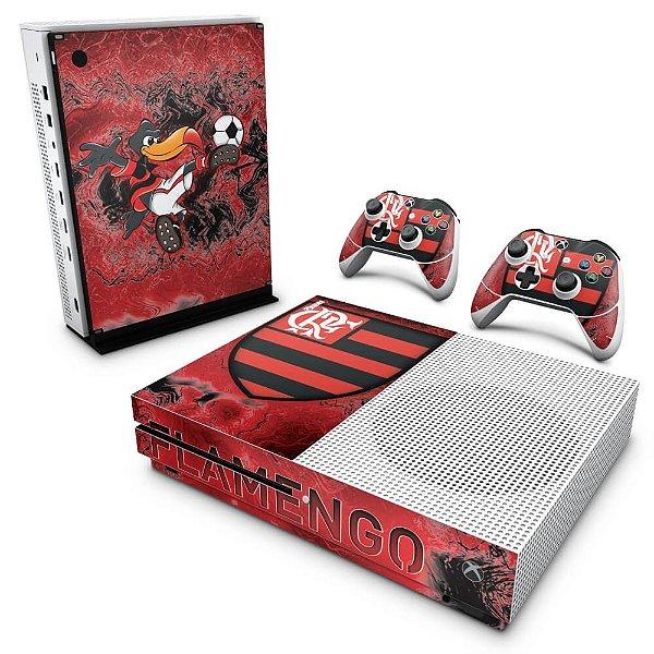 Xbox One Slim Skin - Flamengo