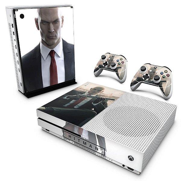 Xbox One Slim Skin - Hitman 2016