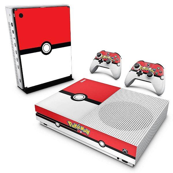 Xbox One Slim Skin - Pokemon Pokebola