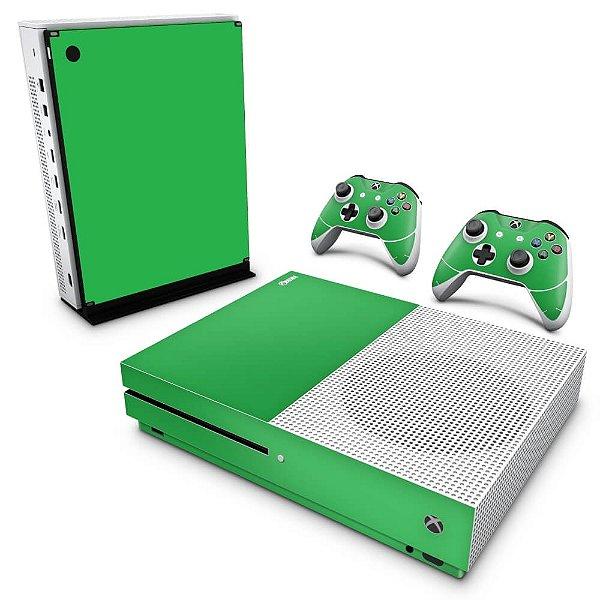 Xbox One Slim Skin - Verde Grama