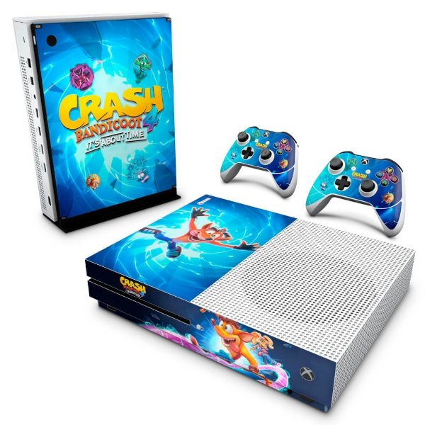 Xbox One Slim Skin - Crash Bandicoot 4