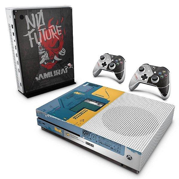 Xbox One Slim Skin - Cyberpunk 2077 Bundle