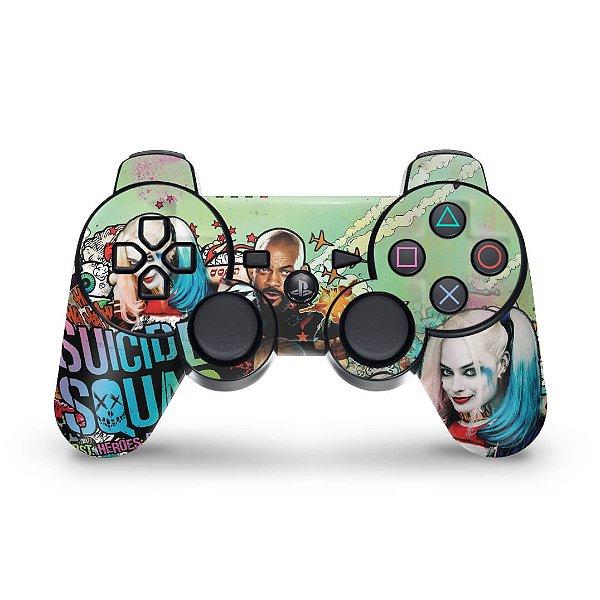 PS3 Controle Skin - Esquadrão Suicida