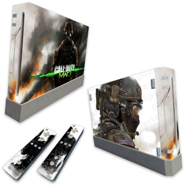 Skin Nintendo Wii - Call Of Duty Modern Warfare 3