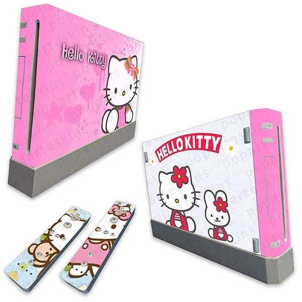 Skin Nintendo Wii - Hello Kitty