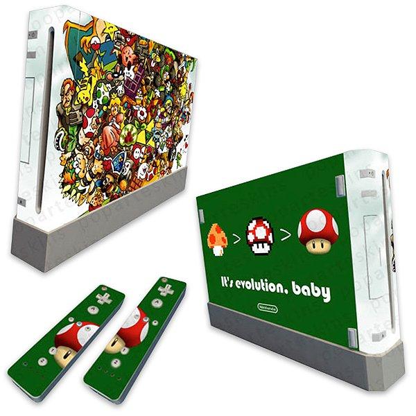 Skin Nintendo Wii - Evolution