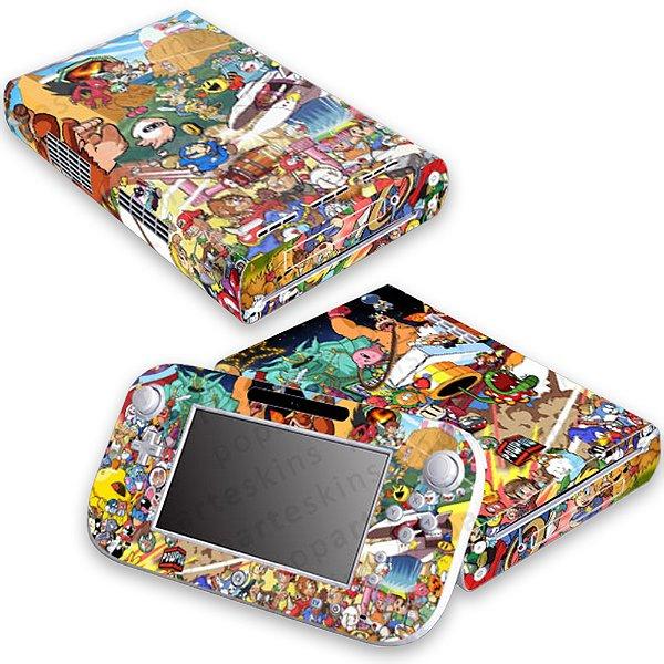 Nintendo Wii U Skin - Bomber Sticker