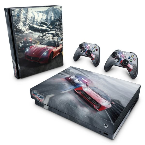 Xbox One X Skin - Need for Speed Rivals