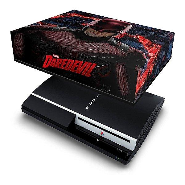 PS3 Fat Capa Anti Poeira - Daredevil Demolidor