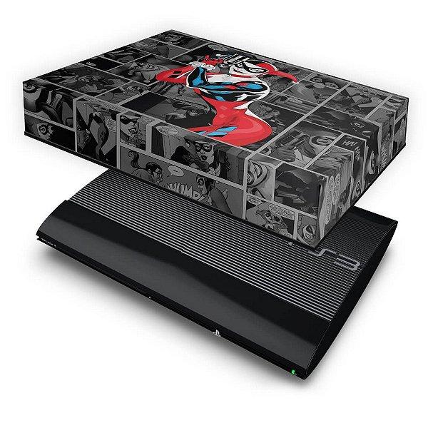 PS3 Super Slim Capa Anti Poeira - Arlequina Harley Quinn