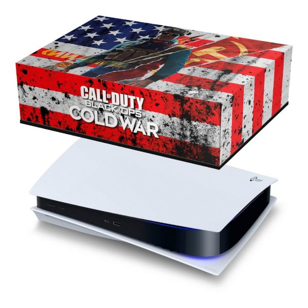 PS5 Capa Anti Poeira - Call Of Duty Cold War