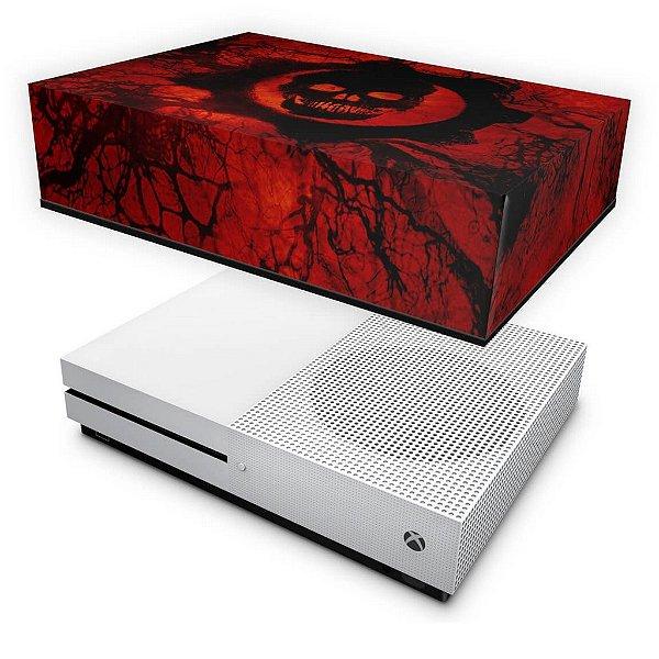 Xbox One Slim Capa Anti Poeira - Gears of War - Skull