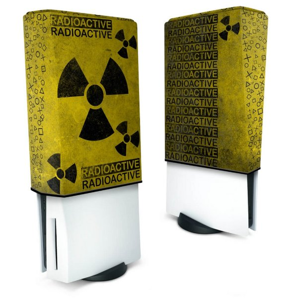 Capa PS5 Anti Poeira - Radioativo