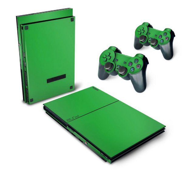 PS2 Slim Skin - Verde