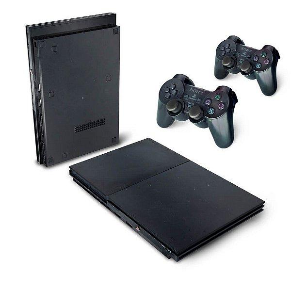 PS2 Slim Skin - Película Transparente