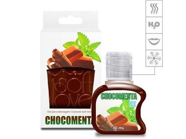 Gel Comestível Ice 30ml Soft Love Chocomenta