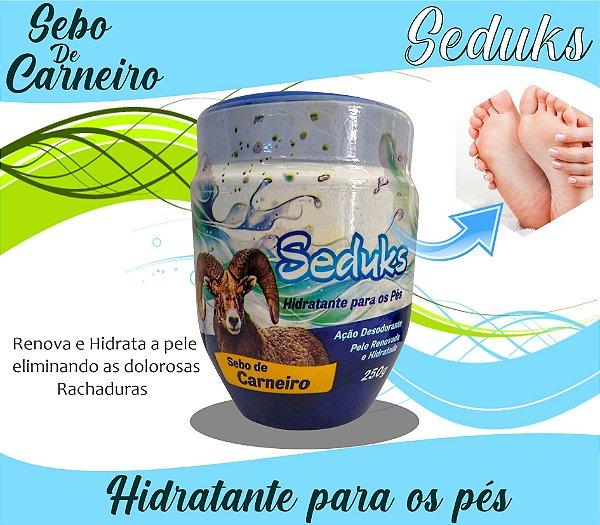 Creme Hidratante para os Pés Sebo de Carneiro 250g