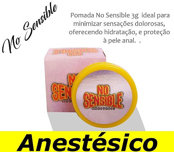 POMADA ANESTÉSICA NO SENSIBLE 3g