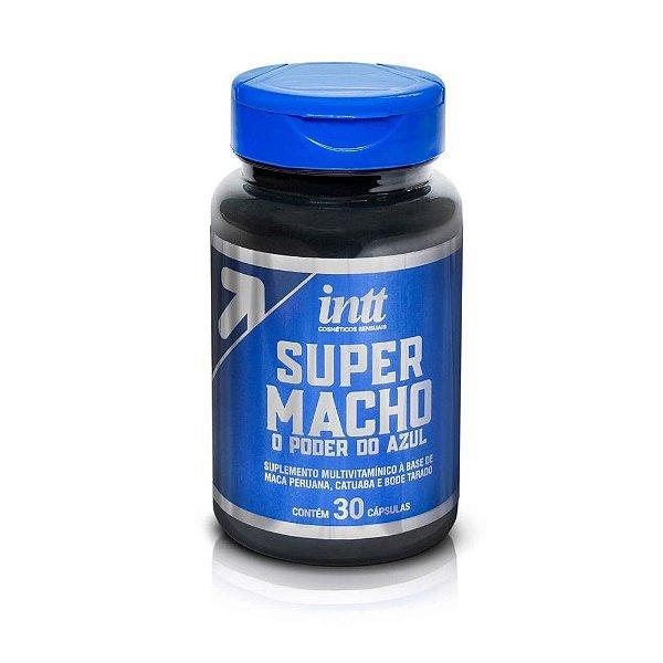 Estimulante Em Cápsulas Super Macho Intt 30 Cápsulas