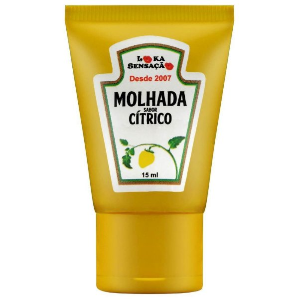 Bala Em Gel Molhada 15ml Loka Sensação