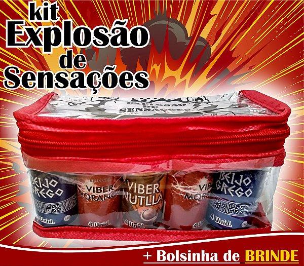 KIT EXPLOSÃO 15 BOLINHAS SORTIDAS