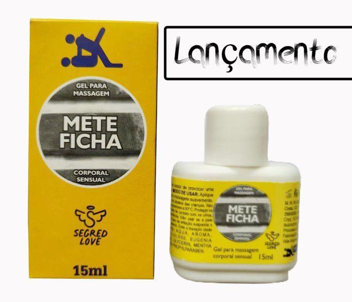ÓLEO LUBRIFICANTE METE FICHA 15 ML