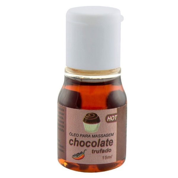 GEL COMESTIVEL HOT 15ML CHILLIES CHOCOLATE TRUFADO