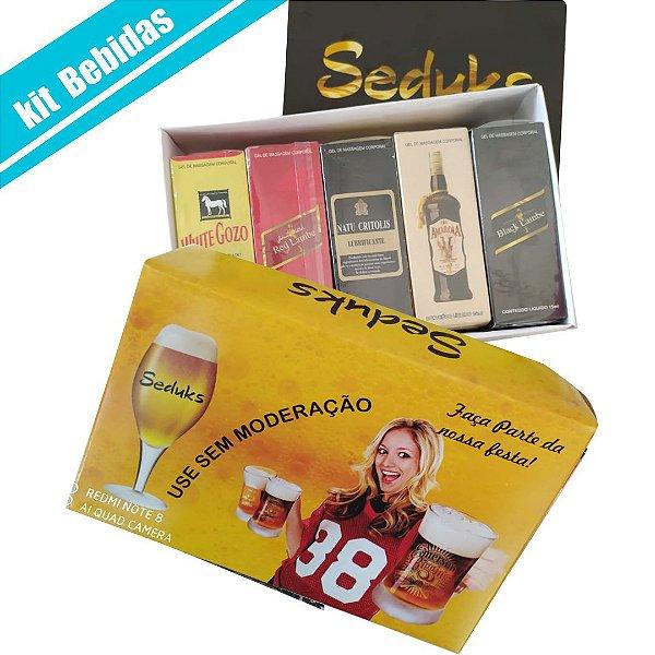 kit Bebidas Seduks 5 itens