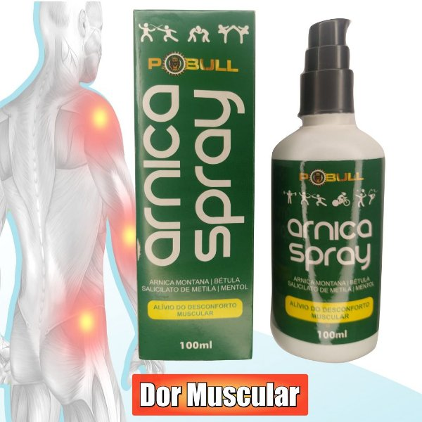 GEL PARA DOR MUSCULAR ARNICA SPRAY 100ML